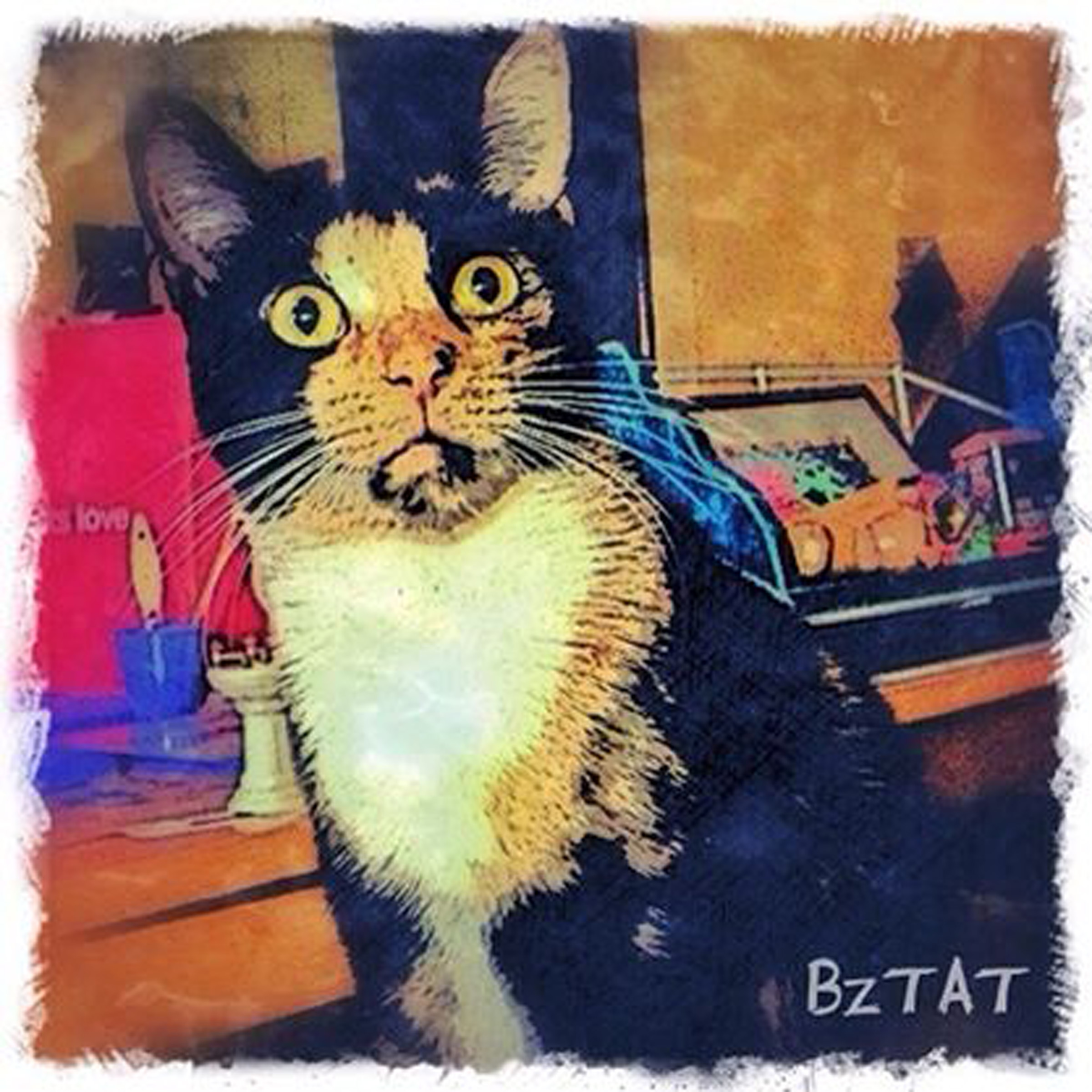 2-Digital-pet-portrait-cat-art-calendar-BZTAT