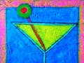 Martini Glass Painting #1