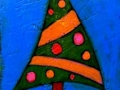 Christmas tree painting by BZTAT