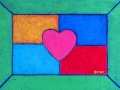 Heart painting by BZTAT