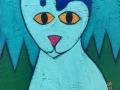 Cat painting by BZTAT