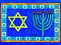 11. Hanukkah Drawing Card (Greeting Inside: Happy Hanukkah!)