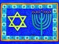 11. Hanukkah Drawing Card (Greeting Inside: Happy Hanukkah!)