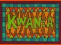 12. Kwanza Drawing Card (Greeting Inside: Happy Kwanza!)