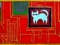 """BZTAT's Red Studio - Homage to Matisse"""