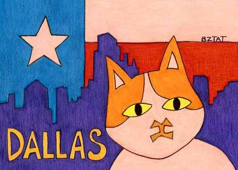 /Brewskie-Butt-ginger-white-cat-Dallas-Texas-drawing-BZTAT-