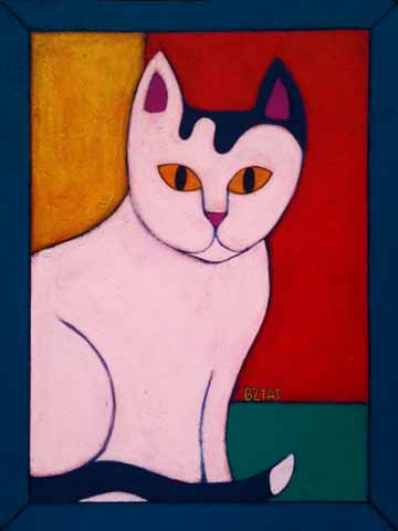 Okey-white-black-cat-painting-BZTAT