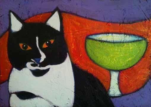 black-white-tuxedo-cat-margarita-painting-bztat