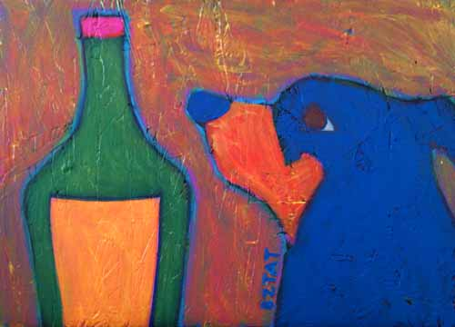 dog-with-cognac-painting-bztat