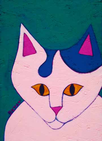 Okey-white-cat-painting-BZTAT