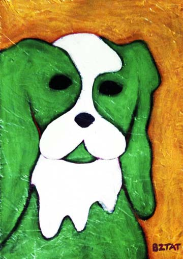 Green-white-dog-painting-BZTAT
