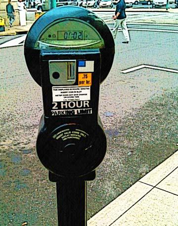 Parking meter design by BZTAT