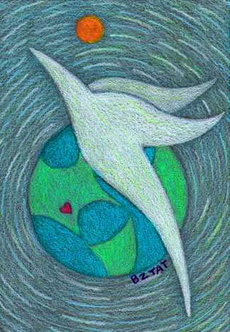 Peace for Aurora, CO drawing by BZTAT