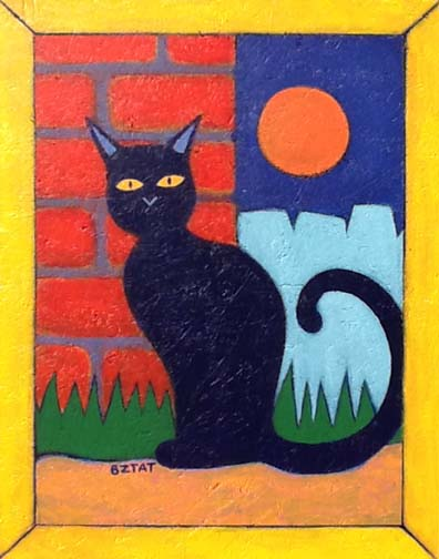 The Mystery of Cats painting by BZTAT