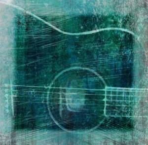 """Guitar"" digital art by BZTAT"