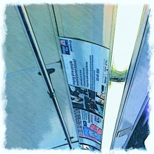 City bus ceiling digital art BZTAT