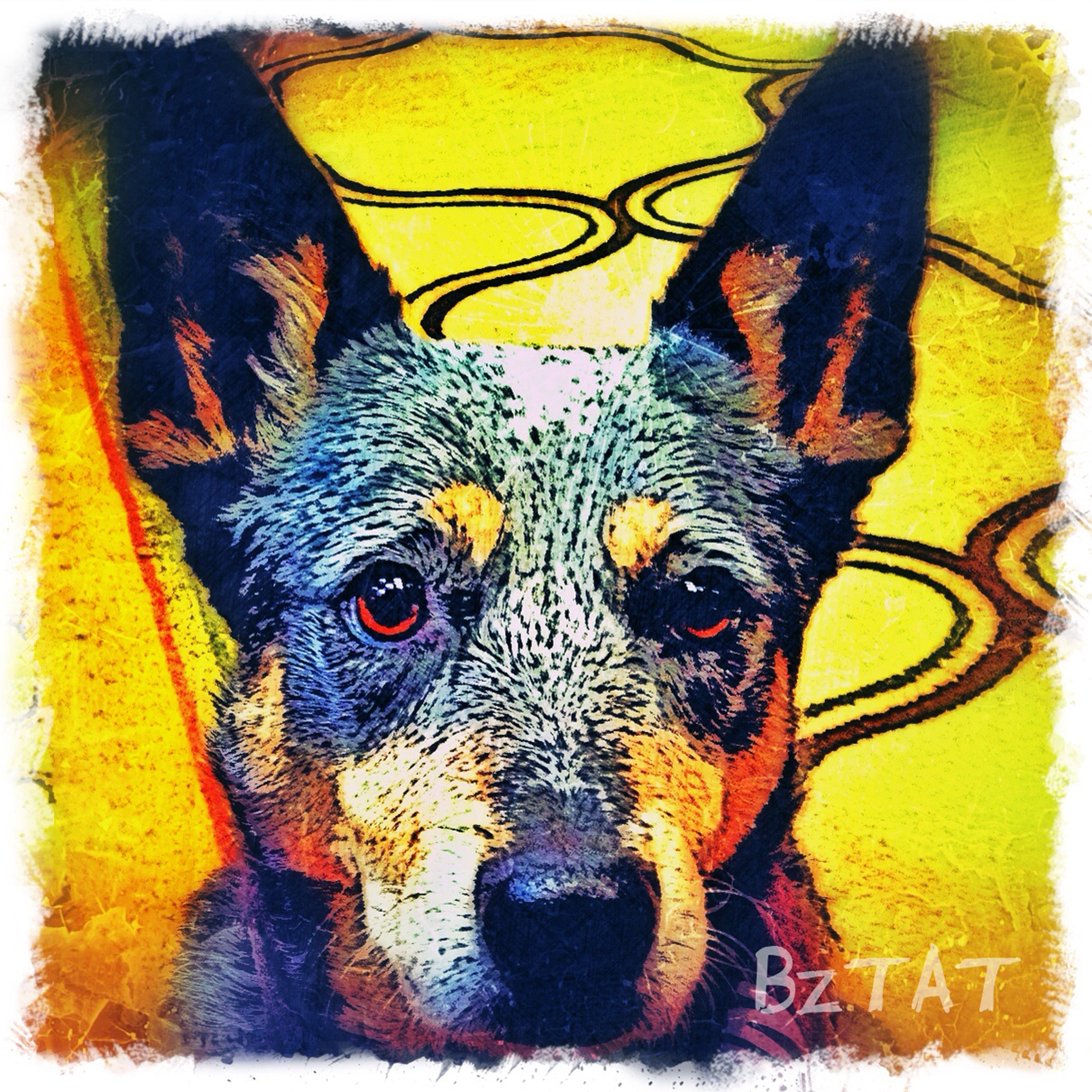 8-Digital-pet-portrait-dog-art-calendar-BZTAT