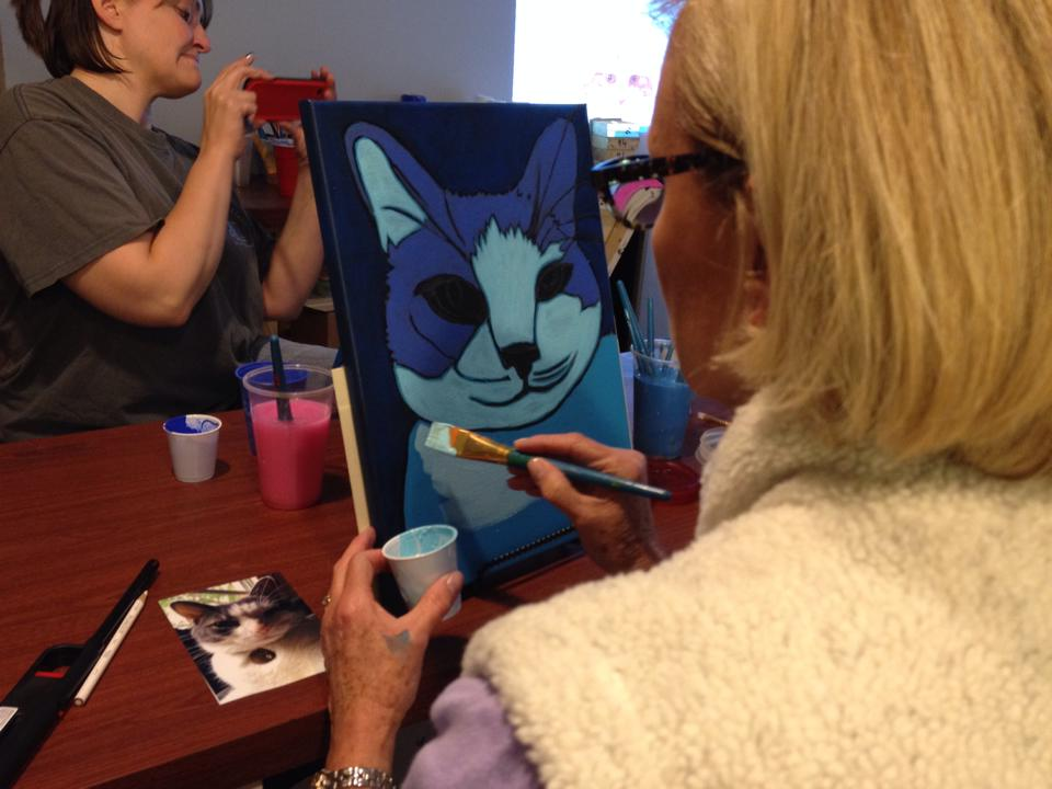 Pet  Portrait painting workshop by BZTAT