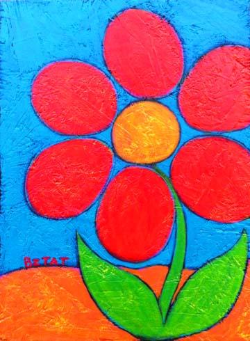"""Red Flower"""