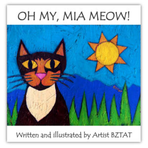 """Oh My, Mia Meow!"" Children's Picture Book"
