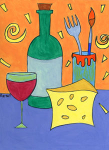 Eat Drink and Create Painting Parties with Artist BZTAT