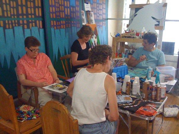 Open Studio Art Class Canton Ohio