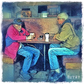 """Random Conversations"" Digital Art by BZTAT"